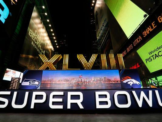 Super Bowl Roman Numerals Football
