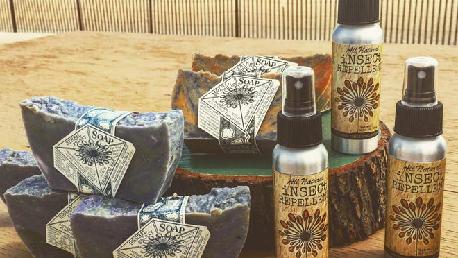 Soaps and insect repellent from Big Spoon Little Spoon.