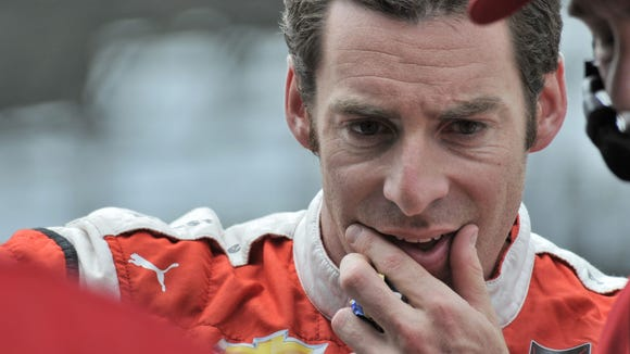 Simon Pagenaud is Team Penske's youngest current driver.