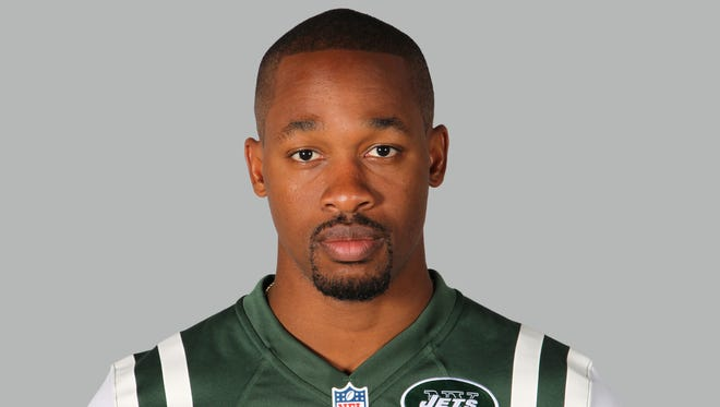 This is a 2014 photo of Dimitri Patterson of the New York Jets.