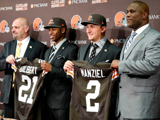 The Browns' 2014 draft didn't work out like they'd