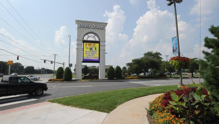 The entrance to Dover Downs Hotel & Casino
