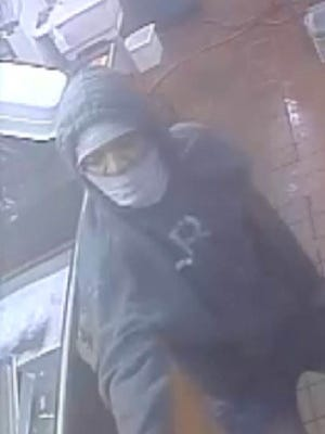 Lafayette Police Department released this photo Monday of a suspect in a Friday robbery at KFC.