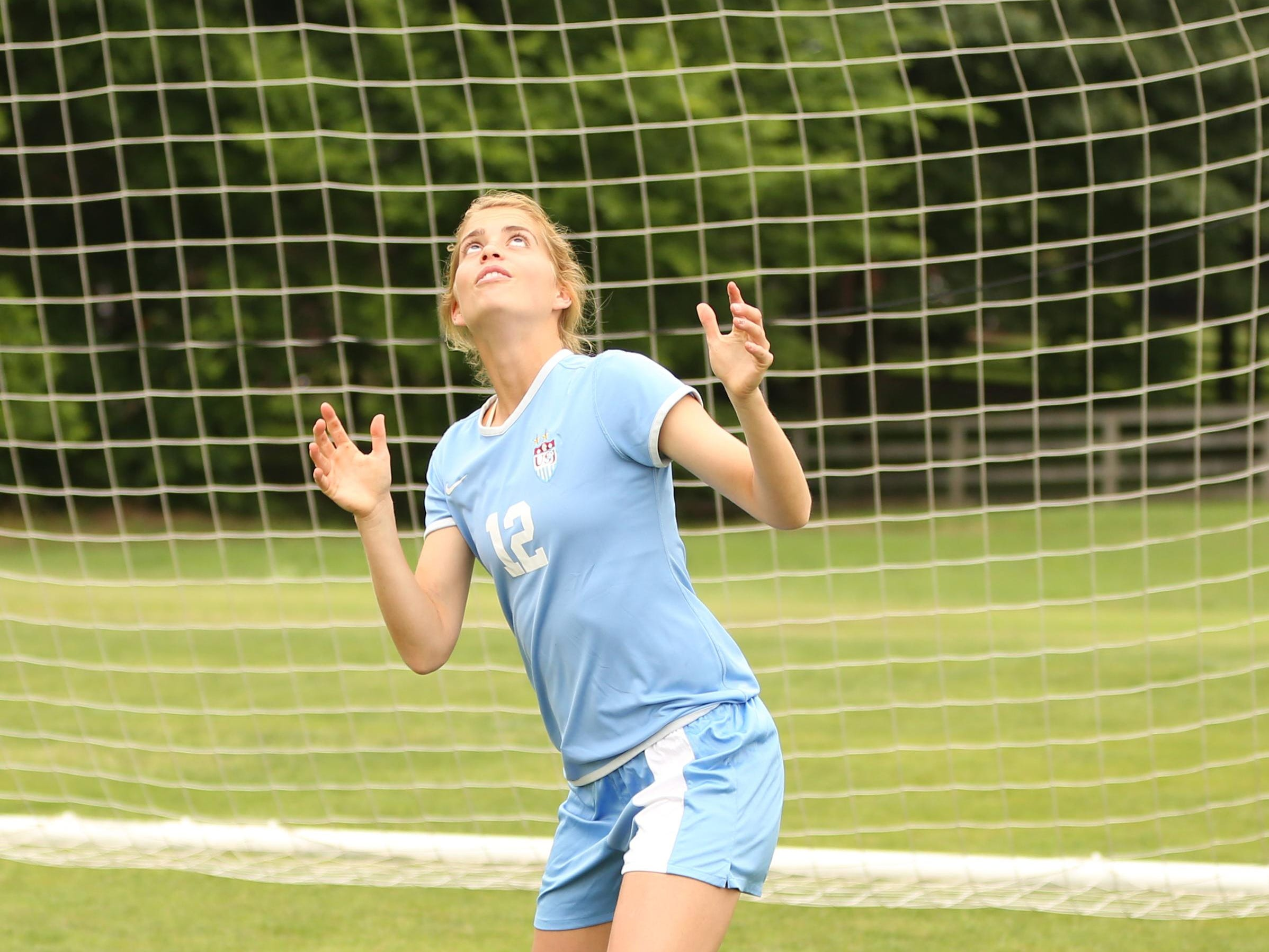 After missing most of last season, USJ's Abbey Fleming is hoping to get back to scoring.
