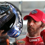 Hendrick Motorsports' Jimmie Johnson had four NASCAR Sprint Cup victories this year but doesn't qualify for the Chase crown under the new rules format.