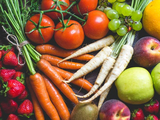 Remember to eat at least 6 – 9 servings of fruits and vegetables every day.
