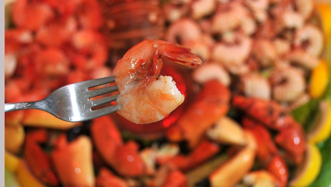 The annual Grant Seafood Festival offers tasty shrimp and much more at the Grant festival grounds.