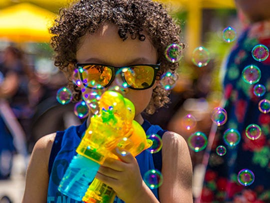 Kids will have a blast at this Bubble Bash!