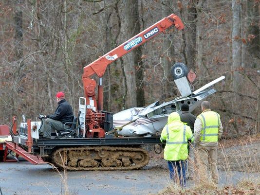 APTOPIX Kentucky Plane Crash