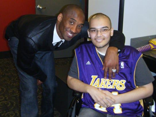 Bryant met Joey Heredero in 2010.