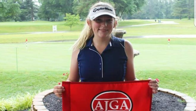 Lakota's Kyleigh Dull took medalist honor Monday at the AJGA qualifier Natural Resources Partners Bluegrass Junior tournament in Ashland, Kentucky.