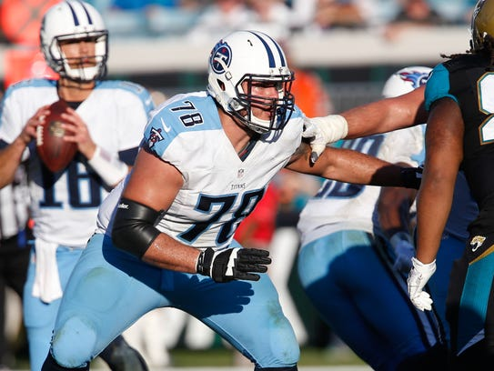 Jack Conklin has a monster rookie season for Tennessee,