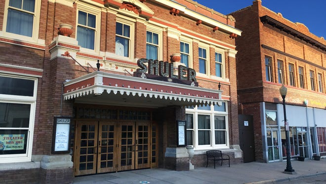 The newly refurbished Shuler Theater in downtown Raton, N.M. is one of many theaters in rural New Mexico towns being revitalized thanks to a state initiative.