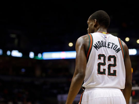 Khris Middleton has been among the bright spots for