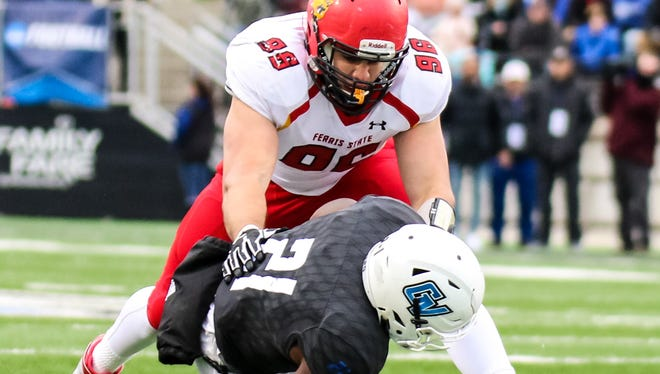 Zach Sieler, a defensive lineman from Pinckney, earned NCAA Division II co-Defensive Player of the Year and first-team All-America honors from Don Hansen's Football Gazette.
