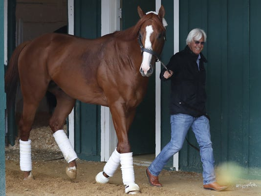 USP HORSE RACING: PREAKNESS WORKOUTS S RAC USA MD