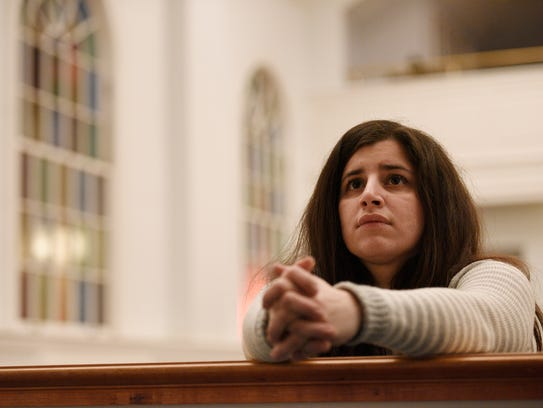 Sandy Khabbazeh, a Syrian who lives in Bergen County