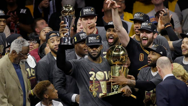 The Cavaliers championship prompted a run on newspapers.