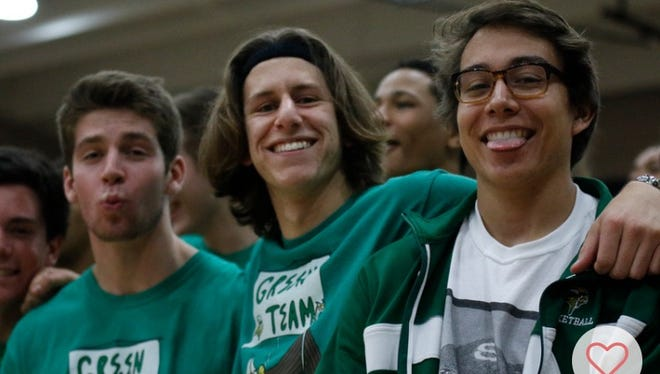 Phoenix Sunnyslope senior basketball player Dylan Colletti (center) had his friend Chase Garrett film and edit a 27-second mix tape and asked people to retweet if they liked it.