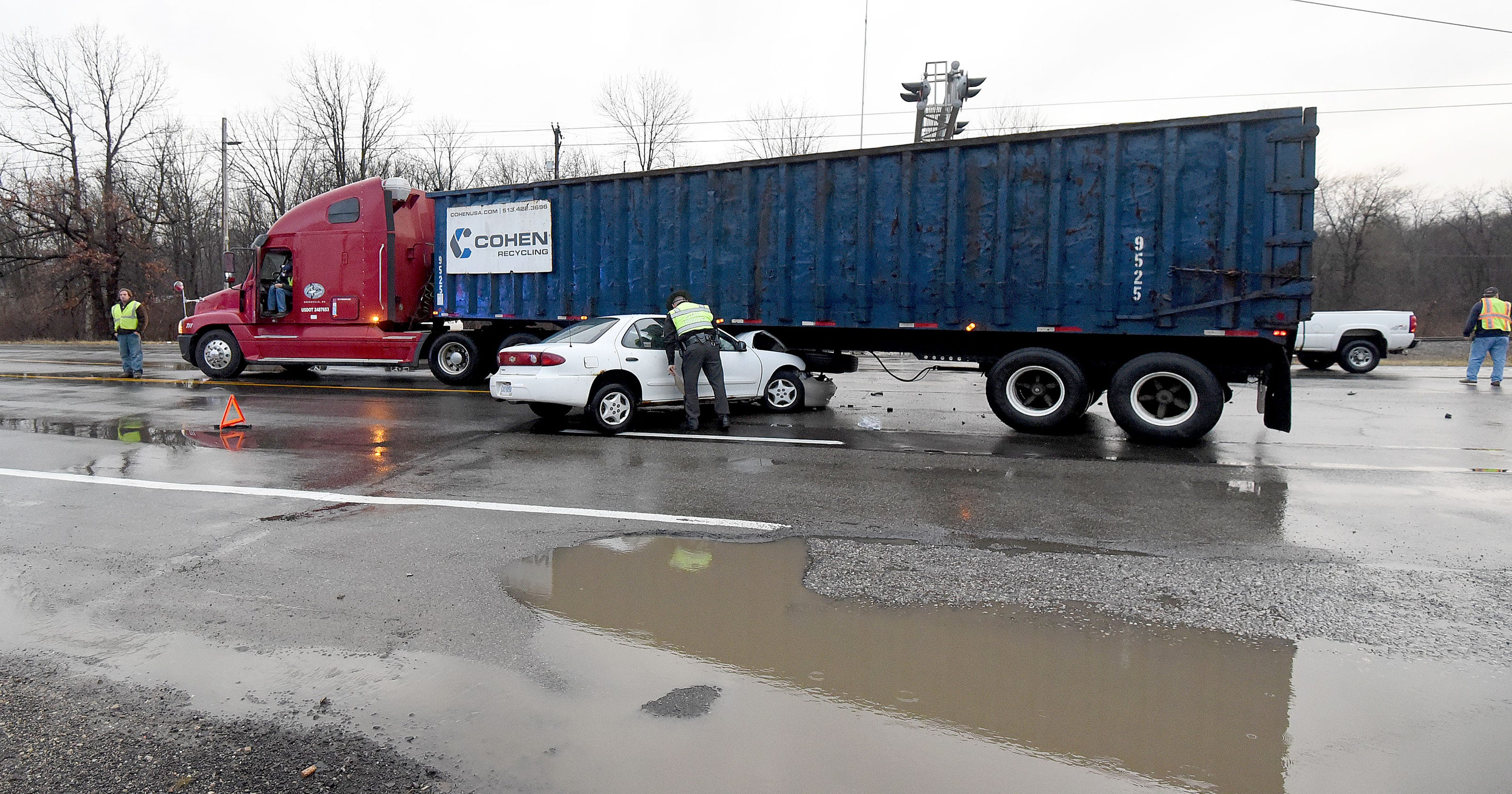 Accidents reported today mansfield ohio