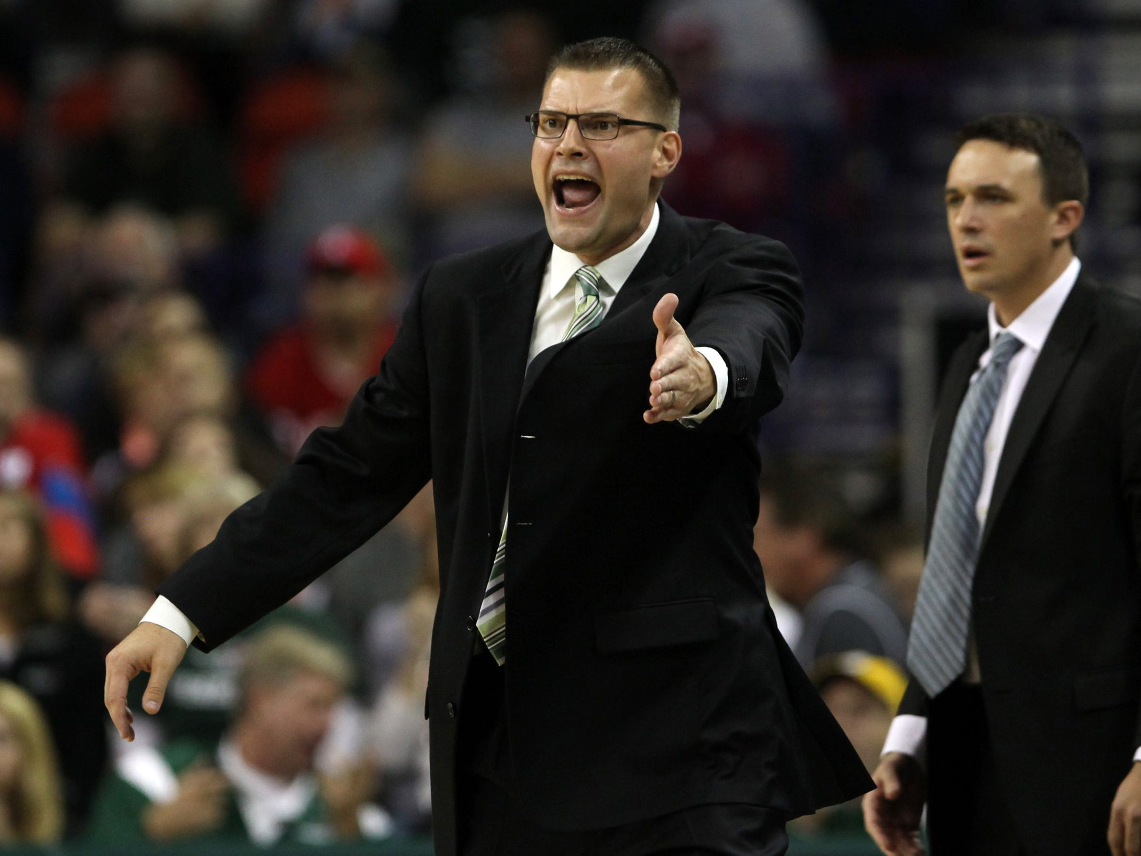 Brian Wardle left UWGB for Bradley in March after five seasons with the Phoenix.