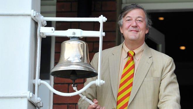 Stephen Fry in 2014.