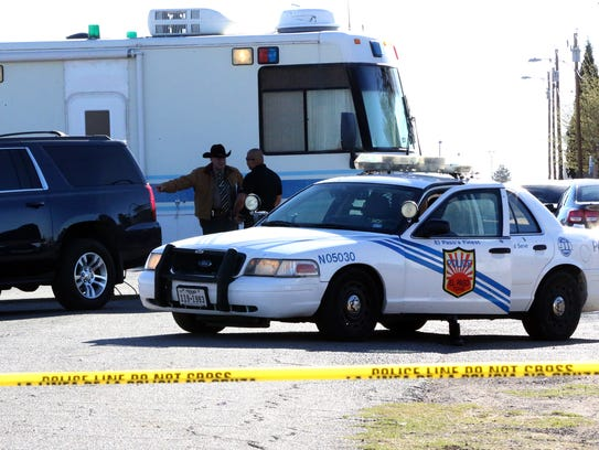 El Paso police investigate a fatal shooting Tuesday