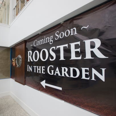 Rooster in the Garden restaurant to open Friday in downtown Fort Pierce