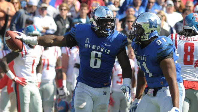 Memphis linebacker Genard Avery is reportedly considering transferring to Ole Miss this fall.