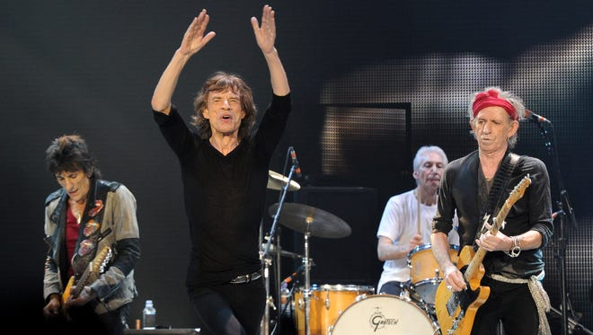 The Rolling Stones will play LP Field on June 17.