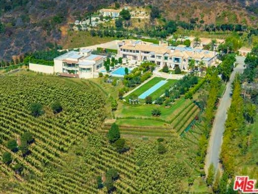 """Palazzo di Amore""  in Beverly Hills is on the market"
