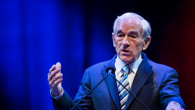 Ron Paul is a former Texas congressman and GOP presidential candidate.