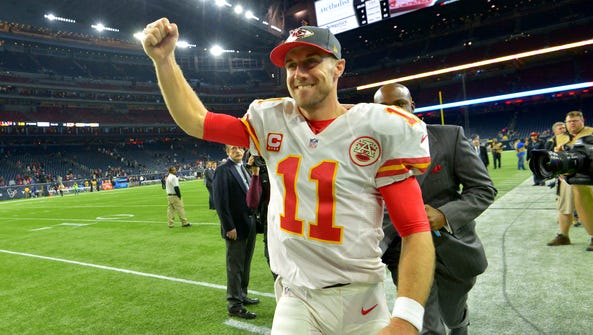 Chiefs QB Alex Smith is coming off perhaps his best
