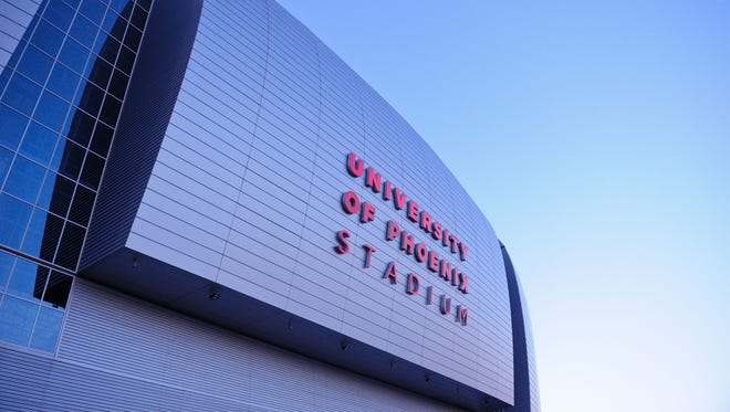 Glendale's University of Phoenix Stadium will play host to both the Fiesta Bowl and the College Football Playoff National Championship game this season.