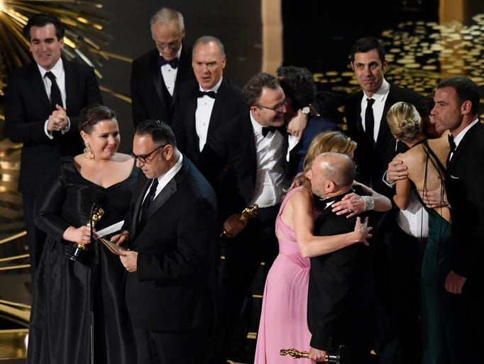 Top photos from the 2016 Academy Awards
