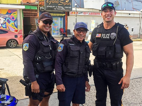 Puerto Rico Fanwood Police