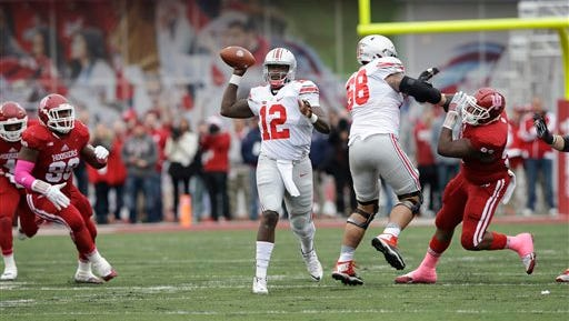 Cardale Jones has started all seven games this season after leading Ohio State to a national championship as a backup last season.