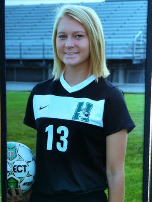 Harrison soccer player Kayla Childs committed to Eastern Kentucky.