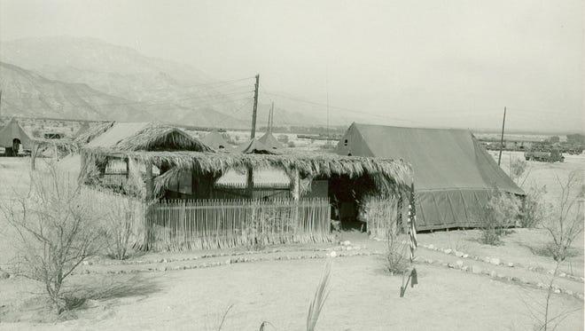 Headquarters Palm Village Motor Pool.