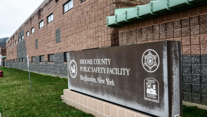 The Broome County Correctional Facility. KRISTOPHER RADDER / Staff Photo The Broome County Sheriff's Correctional Facility.