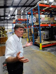 Although the Montgomery Area Food Bank received the highest four out of four-star rating, executive director Parke Hinman believes the food bank will only get better when its new expansion is opened later this year.