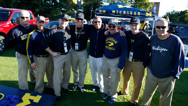 Michigan Men, in their khakis