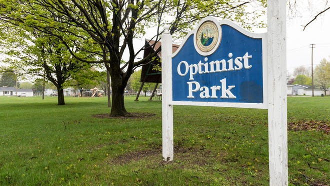 The city received a grant from the Ralph C. Wilson Foundation to build a custom KaBOOM playground at Optimist Park. The city will need kids' input on equipment and volunteers to help put it together.