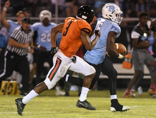 High School Football: Cocoa at Rockledge
