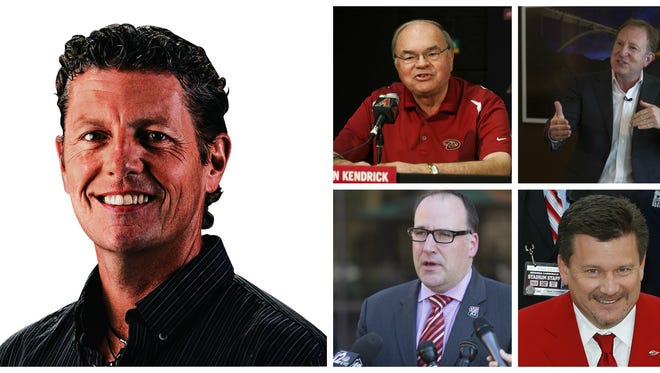 Join azcentral.com and the Arizona Republic for a talk with the Four Bosses of Arizona sports, presented by azcentral sports.
