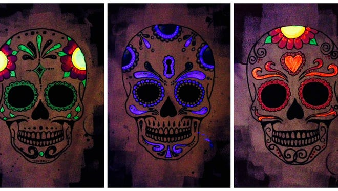 To celebrate the World Culture Series: Mexican Day of the Dead, watch a black light sugar skull painting demonstration by artist Dan Kot on Oct. 27 at the Court House Cultural Center.