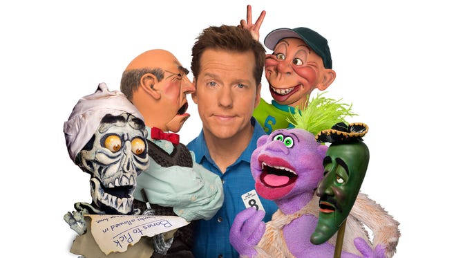 The world's most popular ventriloquist/comedian Jeff Dunham will bring his puppets (l to r) Achmed, Walter, Peanut,  Bubba J and Jose Jalepeno on a Stick to Memorial Auditorium at 5 p.m. Saturday. Tickets are $50.50 but were nearly sold out as of last weekend. Please check www.wfmpec.com or call (940) 716-5555.