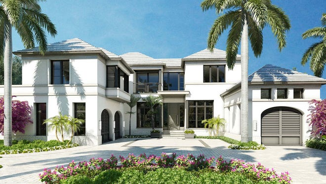 London Bay's new custom estate home in Port Royal will offer 6,394 square feet of living space.