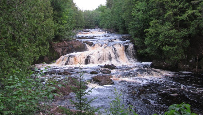 Tyler Forks River flows along the eastern border of the land where Gogebic Taconite wants to store mining wastes and empties downstream into the Bad River and Copper Falls State Park.