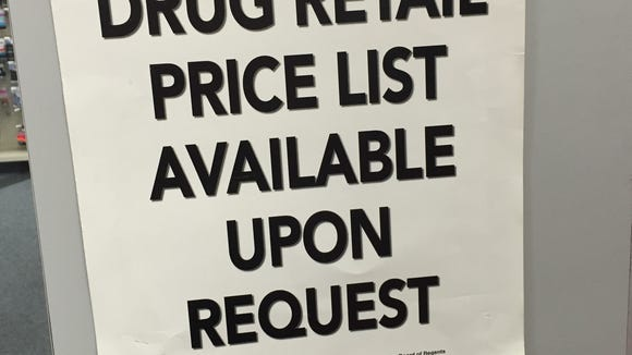 State law requires pharmacies to make available the retail price of the most commonly prescribed medications. Should government make health care providers post the actual cost of their most common procedures?
